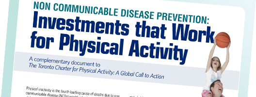 Front cover of NCD Prevention: Investments that Work for Physical Activity